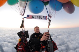 Jonathan Trappe Crosses The Alps In Helium Balloon Flight